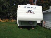 2009 Springdale Fifth Wheel Camper