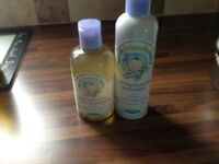 New and unopened calming earth friendly lavender baby products