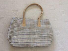 Unused marks and Spencer spring summer handbag.