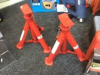 Car jacks 2000 kgs pair