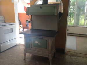 Enterprise vintage wood stove