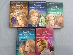 Vieux livres/ romans vintage parus en 1972 !
