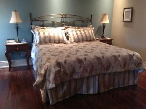 Habillage de lit pour lit king