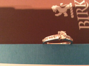 Birks diamond engagement ring