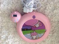 Claessens' Kids Kid'Sleep Classic Sleep Trainer clock , Pink