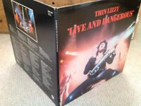 Thin Lizzy Live and dangerous lp excellent condition
