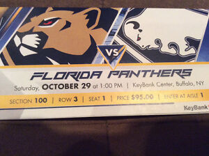 Florida Panthers at Buffalo Sabres