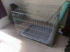Savic dog residence cushion cage