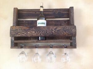 Rustic Pallett Wine Rack London Ontario image 7