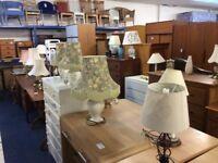 Range lamps starting at £5