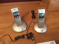 BT Graphite Telephone Answering Machine