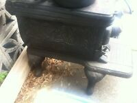 Vintage Wood Burning Oven From the 1800's