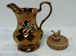 Wade England Jewelry Dish & Pitcher