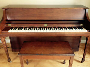 Apartment size Lesage piano in great shape