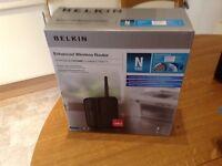 Belkin enhanced wireless router
