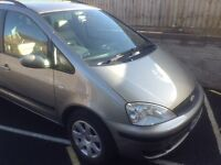 Ford Galaxy v6 on LPG, seven seater full leather interior