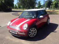 Red Automatic Mini Cooper