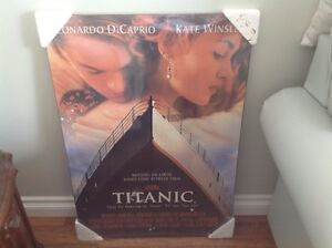 Titanic Movie Mounted Poster - Never Opened