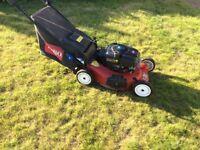 Toro lawnmower sr4 3in 1 recycling mower