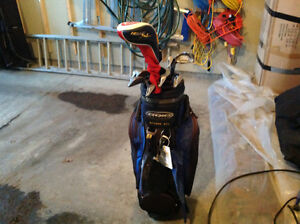Ping Golf clubs w/ bag - left handed