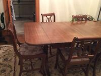 Knetchel Duncan Phyfe style dining room - 9 piece set