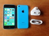 IPHONE 5C 8GB BLUE ON VODAFONE NETWORK