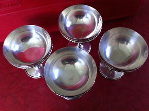 4 Silver Goblets. St. John's Newfoundland image 2
