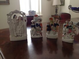 Staffordshire pottery figures, GENUINE