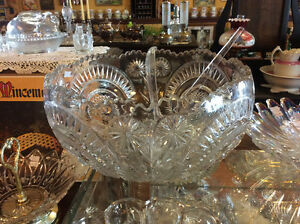 Clear Glass Punch Bowls