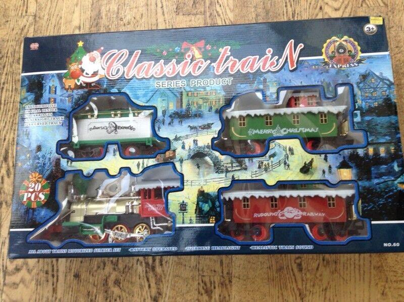 Santa train in excellent condition