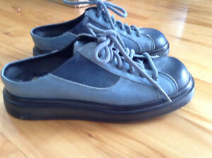 Dr. Martens Blue Leather Clogs New Without Box St. John's Newfoundland image 4