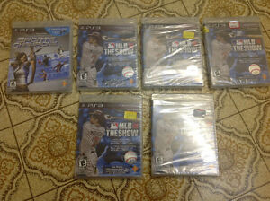 PlayStation 3. Six games new  sealed best offer