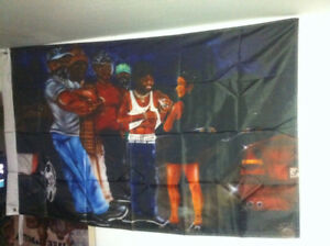 2pac tupac shakur all eyez on me album cartoon flag 90x150cm