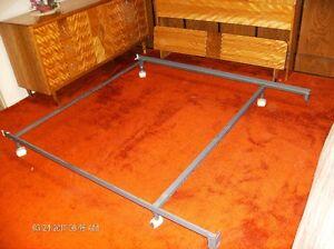Metal Bed Frame Adjustable Queen/Single    Estate Sale