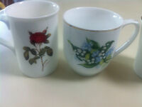 2 Bone China Mugs