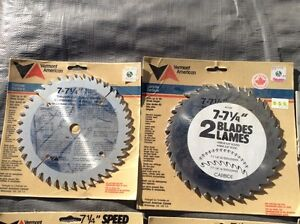 7 1/4 inch skill saw blades  Kawartha Lakes Peterborough Area image 2