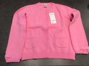 NEW- Gymboree Size 7-8 Girl's Pink Cardigan