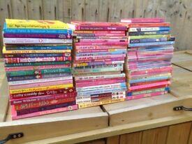 Fabulous Bundle of 75 girls reading books