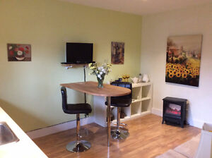 Charming 1 king bedroom furn'd suite, kit, bath,wifi,cable,bbq,