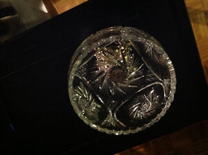 Crystal And Brass Mid-Century Bowl West Island Greater Montréal image 1