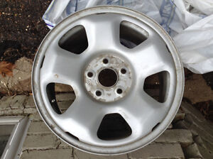 "17"" steel styled wheels"