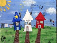Experience l'Acadie! through Altered Art