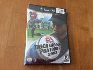 """TIGER WOODS : PGA Tour 2003"" (Nintendo Gamecube) NEW & SEALED"