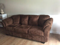 Brown Like New Couch for Sale
