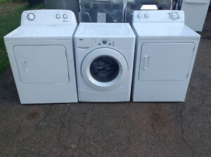 Dryer with 6 month warranty