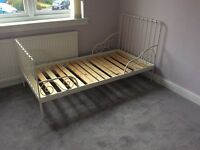 Child's adjustable bed frame