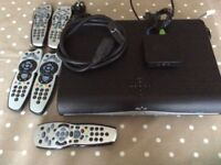 Sky+HD box and extras