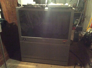 """Free 46"""" projection tv"""