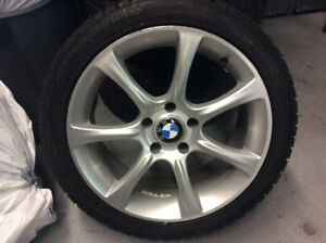 """245-40-18 HIVER .MAGS BMW 18"""" ORIGINAL.ROUES BMW SERIE 5"""