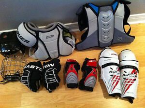 Various Junior hockey items